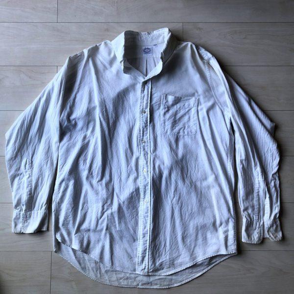 baggy シャツ 6ボタン